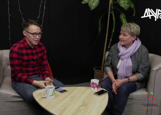 Лариса Буранова стала гостем шоу на телеканале «Даур ТВ»
