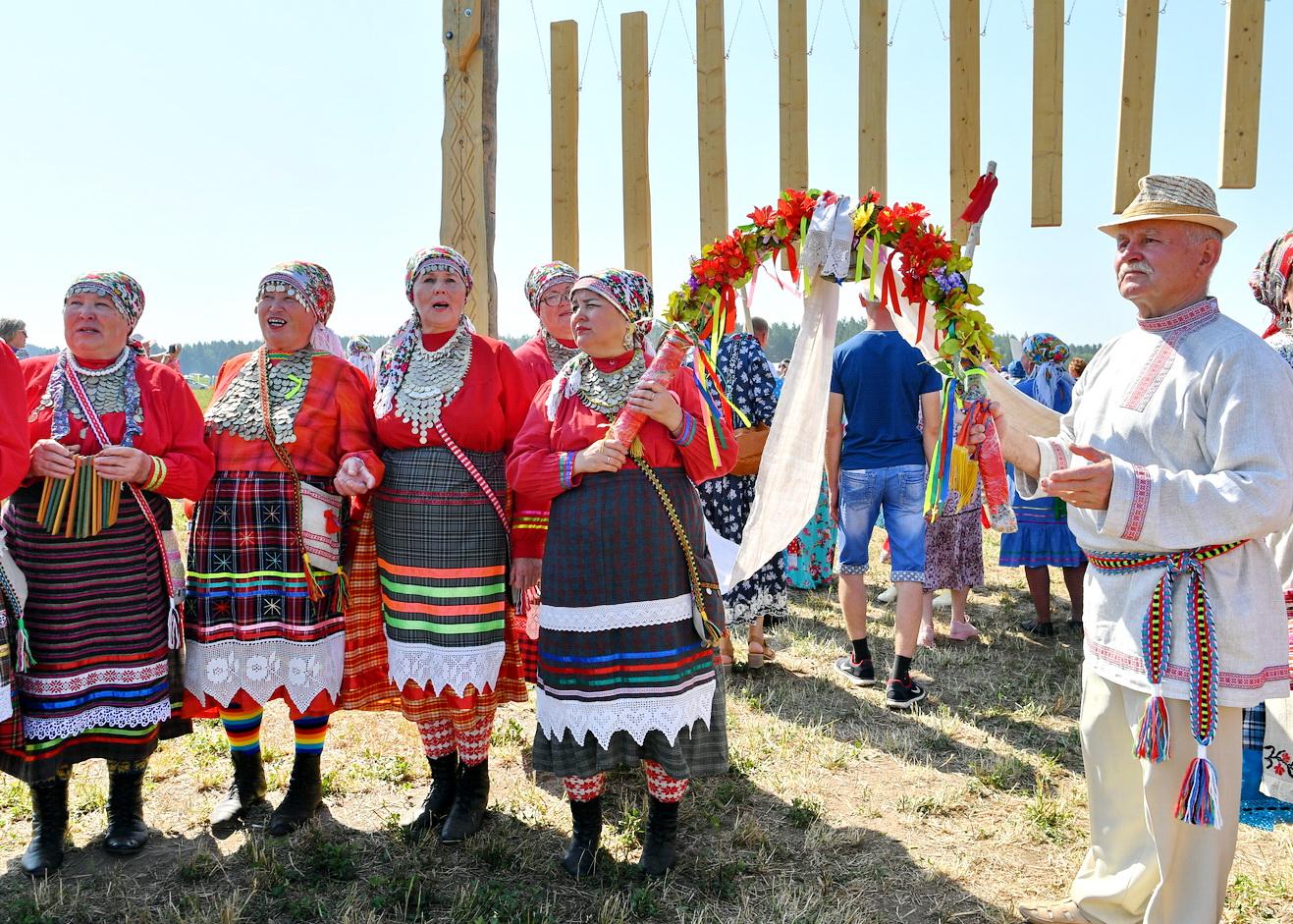 В Удмуртии отметили национальный праздник Гербер